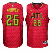 Atlanta Hawks Basketball Trøjer 2015-16 Kyle Korver 26# Alternate..