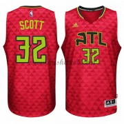 Atlanta Hawks Basketball Trøjer 2015-16 Mike Scott 32# Alternate..
