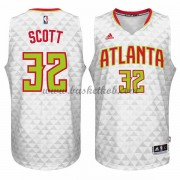 Atlanta Hawks Basketball Trøjer 2015-16 Mike Scott 32# Home..