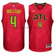 Atlanta Hawks Basketball Trøjer 2015-16 Paul Millsap 4# Alternate..