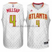 Atlanta Hawks Basketball Trøjer 2015-16 Paul Millsap 4# Home..