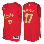 Atlanta Hawks 2016 Dennis Schroder 17# Jul NBA Basketball Trøjer