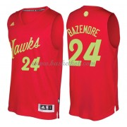 Atlanta Hawks 2016 Kent Bazemore 24# Jul NBA Basketball Trøjer..