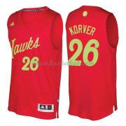 Atlanta Hawks 2016 Kyle Korver 26# Jul NBA Basketball Trøjer..