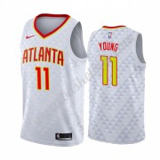 Atlanta Hawks Basketball Trøjer NBA 2019-20 Trae Young 11# Association Edition Swingman..