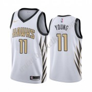 Atlanta Hawks Basketball Trøjer NBA 2019-20 Trae Young 11# City Edition Swingman..