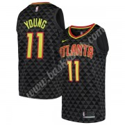 Atlanta Hawks Basketball Trøjer NBA 2019-20 Trae Young 11# Sort Icon Edition Swingman..