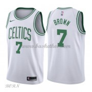 NBA Basketball Trøje Børn Boston Celtics 2018 Jaylen Brown 7# Association Edition..