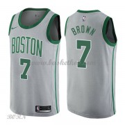 NBA Basketball Trøje Børn Boston Celtics 2018 Jaylen Brown 7# City Edition..