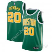 Billige Basketball Trøje Børn Boston Celtics 2019-20 Gordon Hayward 20# Grøn Earned Edition Swingman..