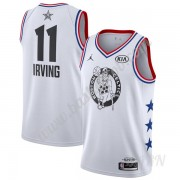 Billige Basketball Trøje Børn Boston Celtics 2019 Kyrie Irving 11# Hvid All-Star Game Finished Swing..