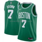 Boston Celtics Basketball Trøjer 2018 Jaylen Brown 7# Icon Edition..
