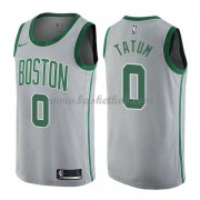 Boston Celtics Basketball Trøjer 2018 Jayson Tatum 0# City Edition..
