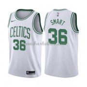 Boston Celtics Basketball Trøjer 2018 Marcus Smart 36# Association Edition..