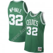 Boston Celtics Basketball Trøjer NBA 1985-86 Kevin McHale 32# Grøn Hardwood Classics Swingman..