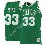 Boston Celtics Basketball Trøjer NBA 1985-86 Larry Bird 33# Grøn Hardwood Classics Swingman..