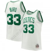 Boston Celtics Basketball Trøjer NBA 1985-86 Larry Bird 33# Hvid Hardwood Classics Swingman..