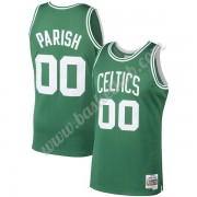 Boston Celtics Basketball Trøjer NBA 1985-86 Robert Parish 00# Grøn Hardwood Classics Swingman..
