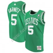 Boston Celtics Basketball Trøjer NBA 2007-08 Kevin Garnett 5# Grøn Hardwood Classics Swingman..