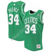 Boston Celtics Basketball Trøjer NBA 2007-08 Paul Pierce 34# Grøn Hardwood Classics Swingman..