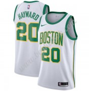 Boston Celtics Basketball Trøjer NBA 2019-20 Gordon Hayward 20# Hvid City Edition Swingman..