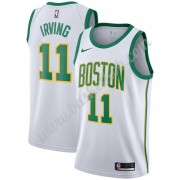 Boston Celtics Basketball Trøjer NBA 2019-20 Kyrie Irving 11# Hvid City Edition Swingman..
