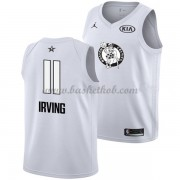 Boston Celtics Kyrie Irving 11# Hvid 2018 All Star Game Swingman Basketball Trøjer..