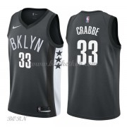 NBA Basketball Trøje Børn Brooklyn Nets 2018 Allen Crabbe 33# Statement Edition..
