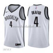 NBA Basketball Trøje Børn Brooklyn Nets 2018 Jahlil Okafor 4# Association Edition..