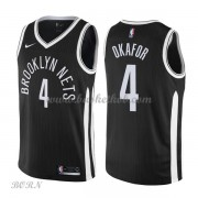 NBA Basketball Trøje Børn Brooklyn Nets 2018 Jahlil Okafor 4# City Edition..