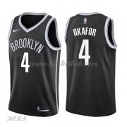 NBA Basketball Trøje Børn Brooklyn Nets 2018 Jahlil Okafor 4# Icon Edition..