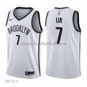 NBA Basketball Trøje Børn Brooklyn Nets 2018 Jeremy Lin 7# Association Edition..