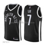 NBA Basketball Trøje Børn Brooklyn Nets 2018 Jeremy Lin 7# City Edition..
