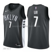 NBA Basketball Trøje Børn Brooklyn Nets 2018 Jeremy Lin 7# Statement Edition..