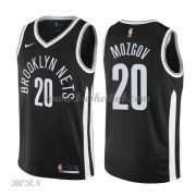 NBA Basketball Trøje Børn Brooklyn Nets 2018 Timofey Mozgov 20# City Edition..