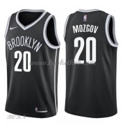 NBA Basketball Trøje Børn Brooklyn Nets 2018 Timofey Mozgov 20# Icon Edition..