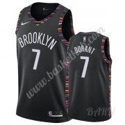 Billige Basketball Trøje Børn Brooklyn Nets 2019-20 Kevin Durant 7# Sort City Edition Swingman..