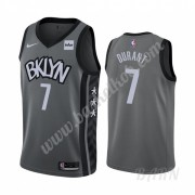 Billige Basketball Trøje Børn Brooklyn Nets 2019-20 Kevin Durant 7# Grå Statement Edition Swingman..