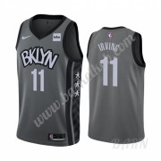 Billige Basketball Trøje Børn Brooklyn Nets 2019-20 Kyrie Irving 11# Grå Statement Edition Swingman..