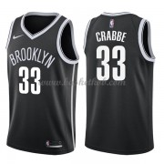 Brooklyn Nets Basketball Trøjer 2018 Allen Crabbe 33# Icon Edition..