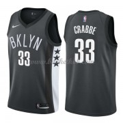 Brooklyn Nets Basketball Trøjer 2018 Allen Crabbe 33# Statement Edition..