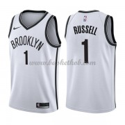 Brooklyn Nets Basketball Trøjer 2018 D'Angelo Russell 1# Association Edition..
