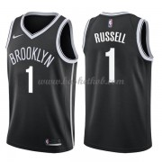 Brooklyn Nets Basketball Trøjer 2018 D'Angelo Russell 1# Icon Edition..