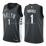 Brooklyn Nets Basketball Trøjer 2018 D'Angelo Russell 1# Statement Edition..
