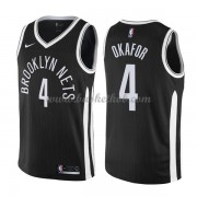 Brooklyn Nets Basketball Trøjer 2018 Jahlil Okafor 4# City Edition..