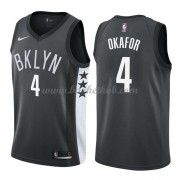 Brooklyn Nets Basketball Trøjer 2018 Jahlil Okafor 4# Statement Edition..