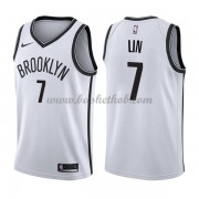 Brooklyn Nets Basketball Trøjer 2018 Jeremy Lin 7# Association Edition..