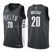 Brooklyn Nets Basketball Trøjer 2018 Timofey Mozgov 20# Statement Edition..