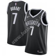 Brooklyn Nets Basketball Trøjer NBA 2019-20 Kevin Durant 7# Sort Icon Edition Swingman..