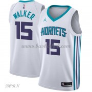 NBA Basketball Trøje Børn Charlotte Hornets 2018 Kemba Walker 15# Association Edition..